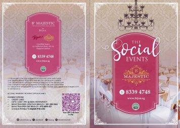 Social Events Gold