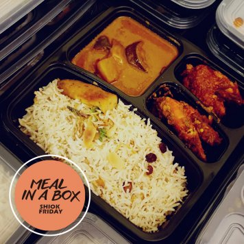 A5. Meal In A Box - Shiok Friday