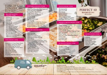 C2. Catering Perfect 10